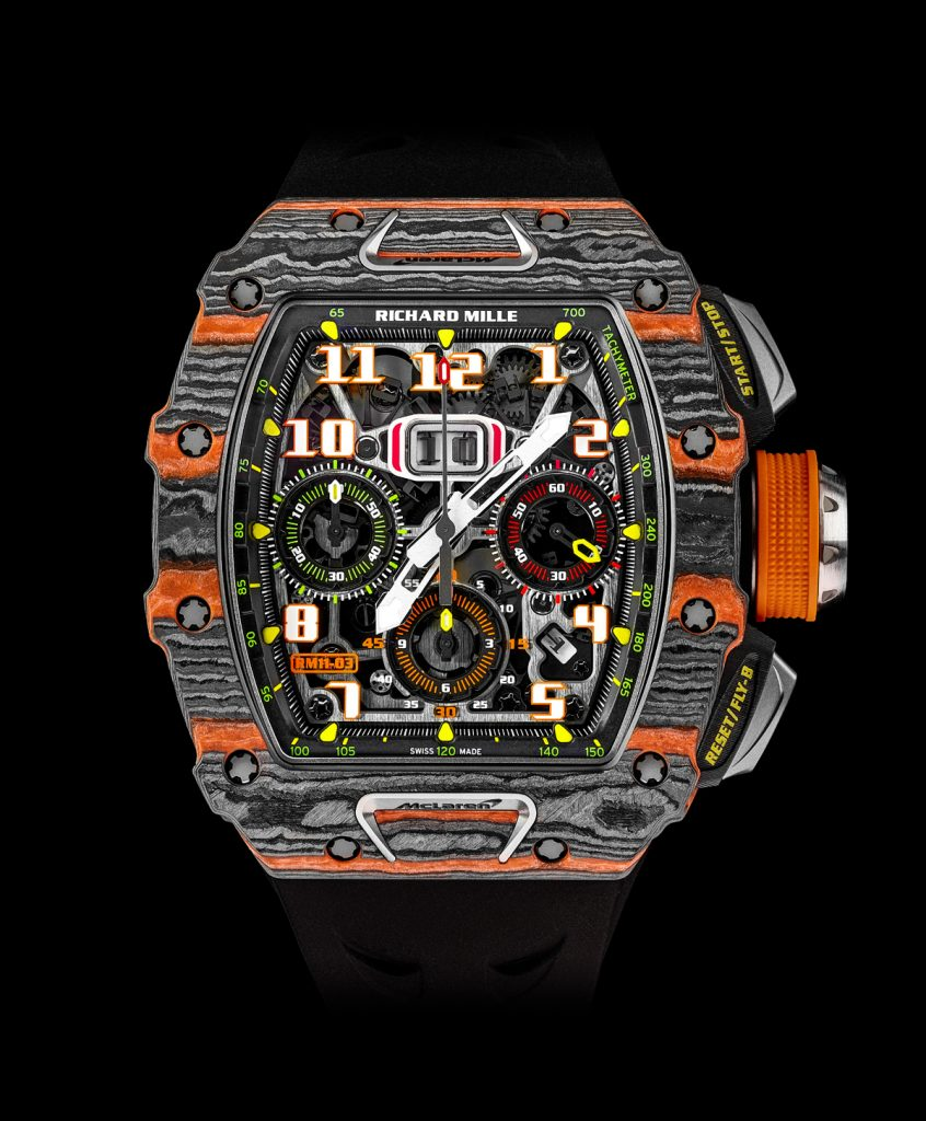 Richard Mille RM 11-03 McLaren Flyback Chronograph watch