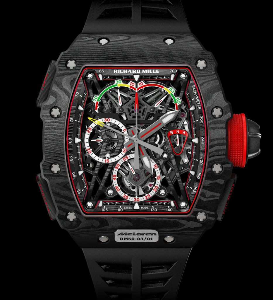 Richard Mille RM 50-03, million-dollar watches of 2017.