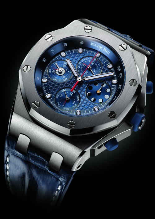 Audemars Piguet Royal Oak Offshore Perpetual Calendar Chronograph in platinum