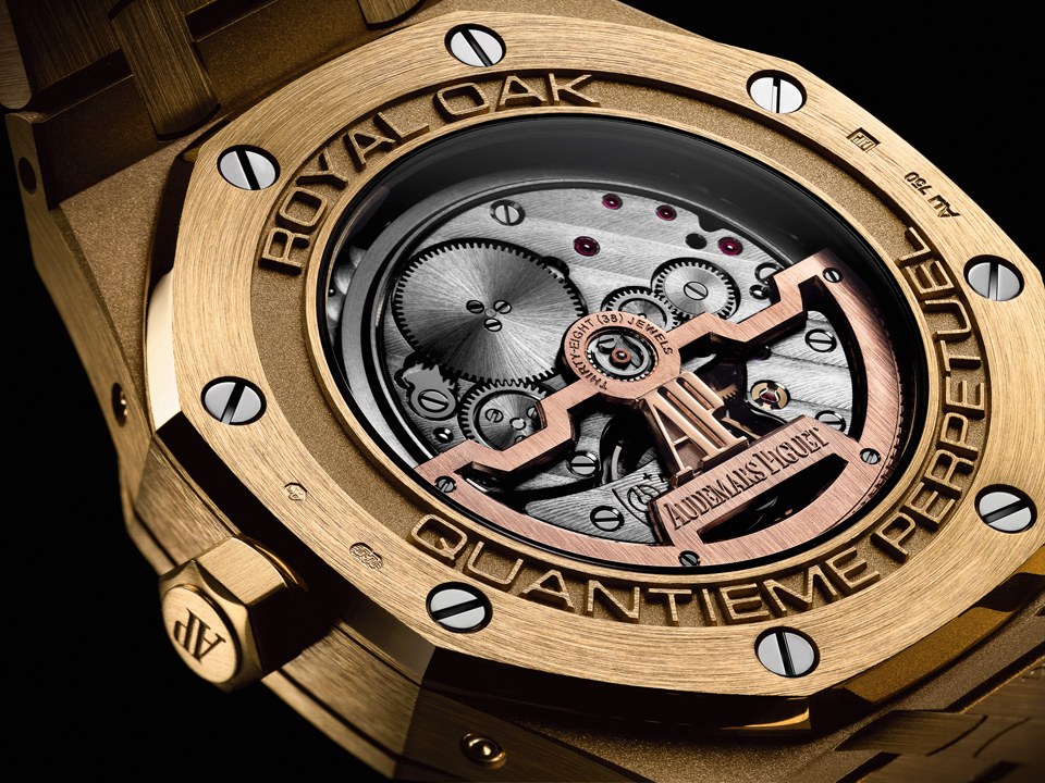 The 374-part caliber 5134 is also ultra-flat --with a 4.31mm thickness
