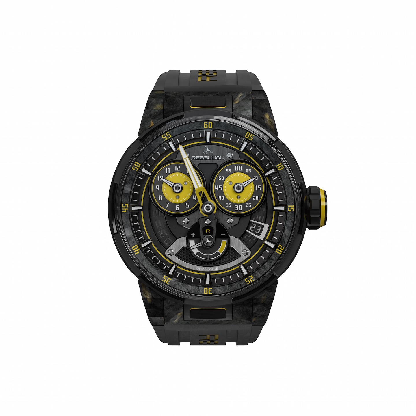 Rebellion Predator 2.0 Regulator Power Reserve Sebastien Buemi Edition for Only Watch