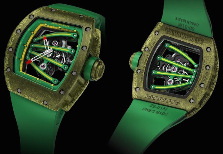 Richard Mille RM059=01 Tourbillon Yohan Blake