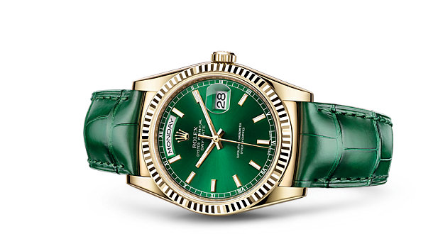 Seven Sensational Green Rolex Watches from the No. 1-Ranked Brand in Reputation