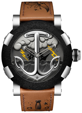 Romain Jerome Tattoo DNA series: The Sailor's Grave. Created with Mo Coppoletta.