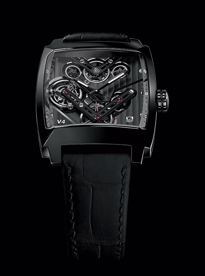 TAG Heuer's Monaco V4 Tourbillon is the world's first