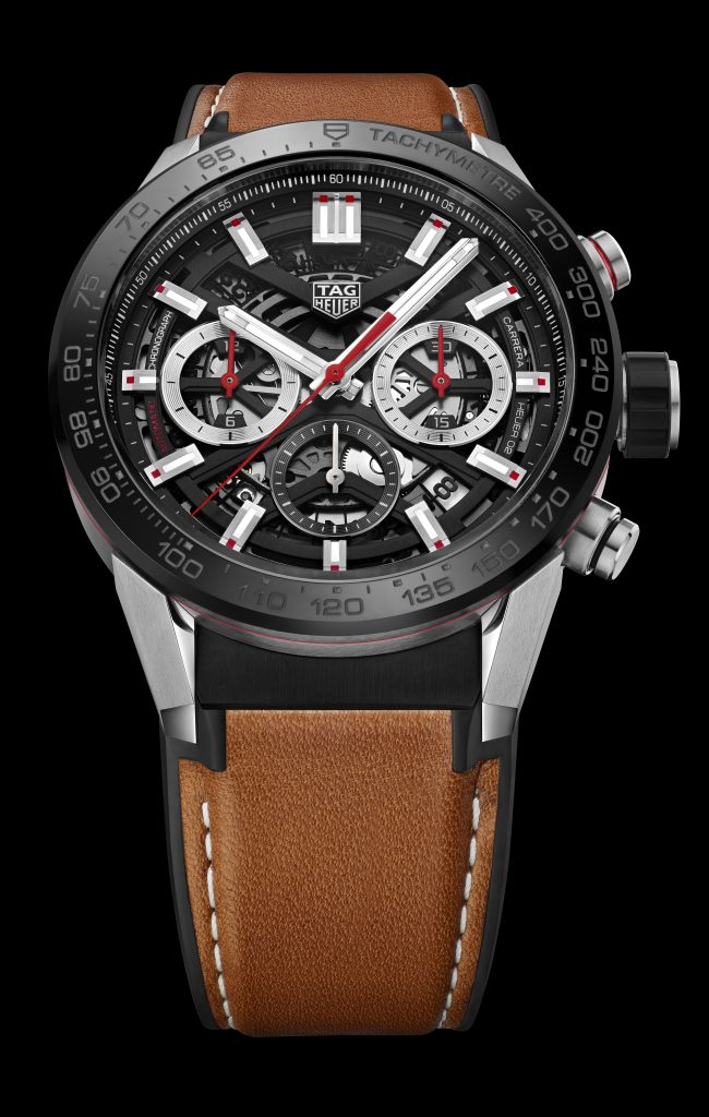 TAG Heuer Unveils Carrera Heuer 02 with new Heuer 02 Manufacture Movement