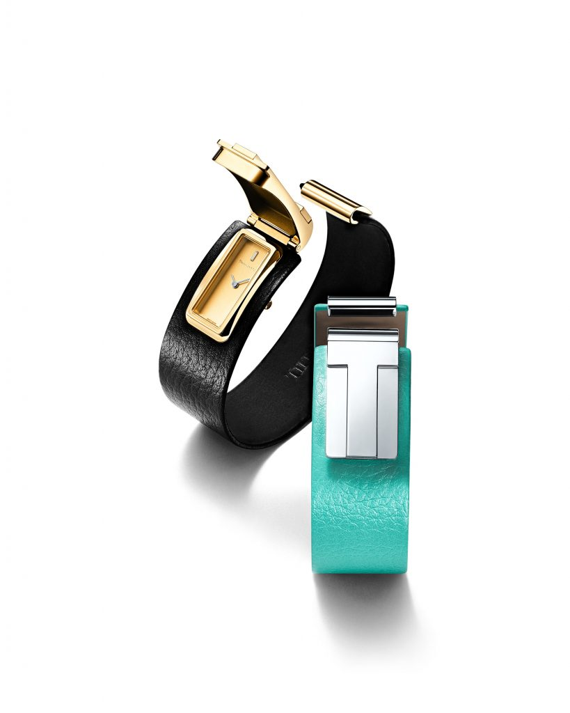 The new Tiffany T Watch is a highly modern secret watch