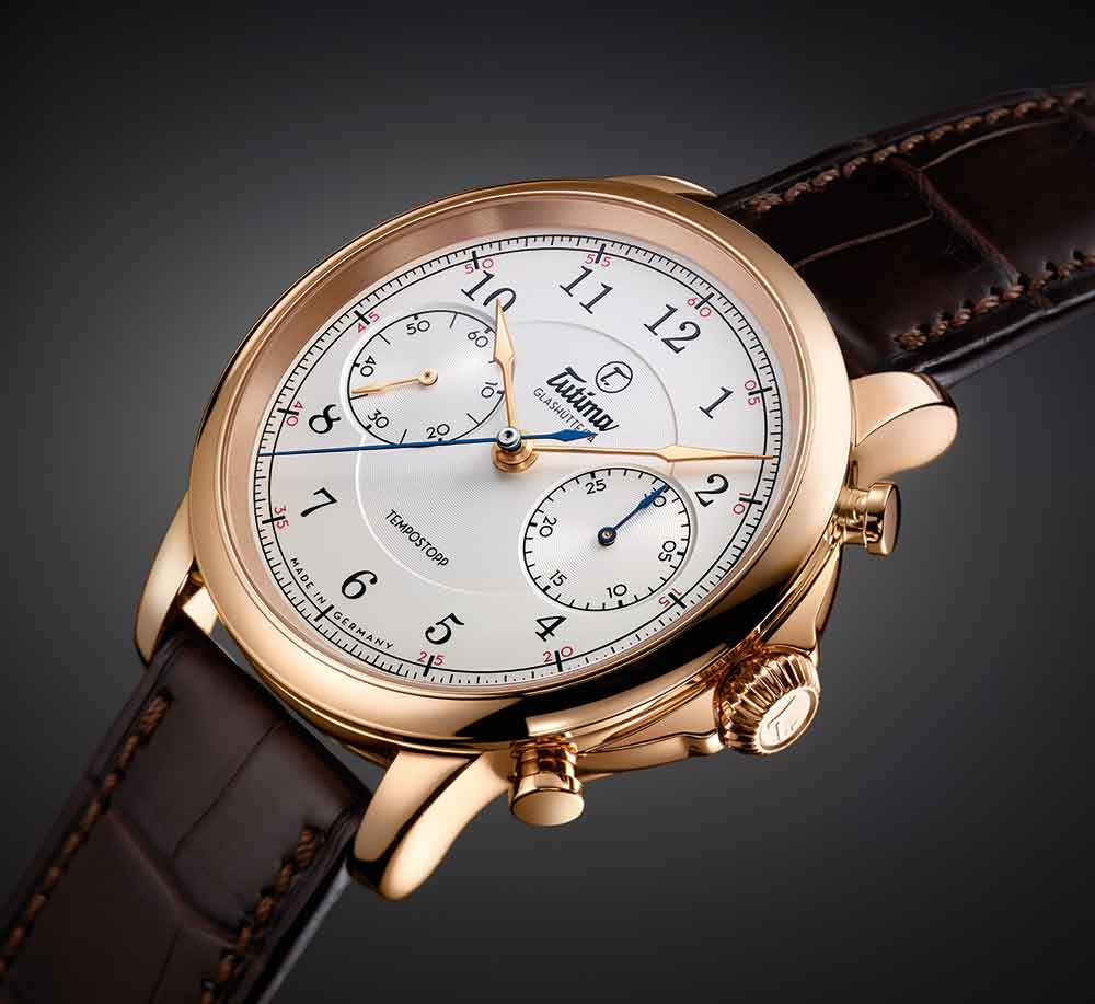 Tutima Tempostopp chronograph pulls out all the stops when it comes to craftsmanship and precision.