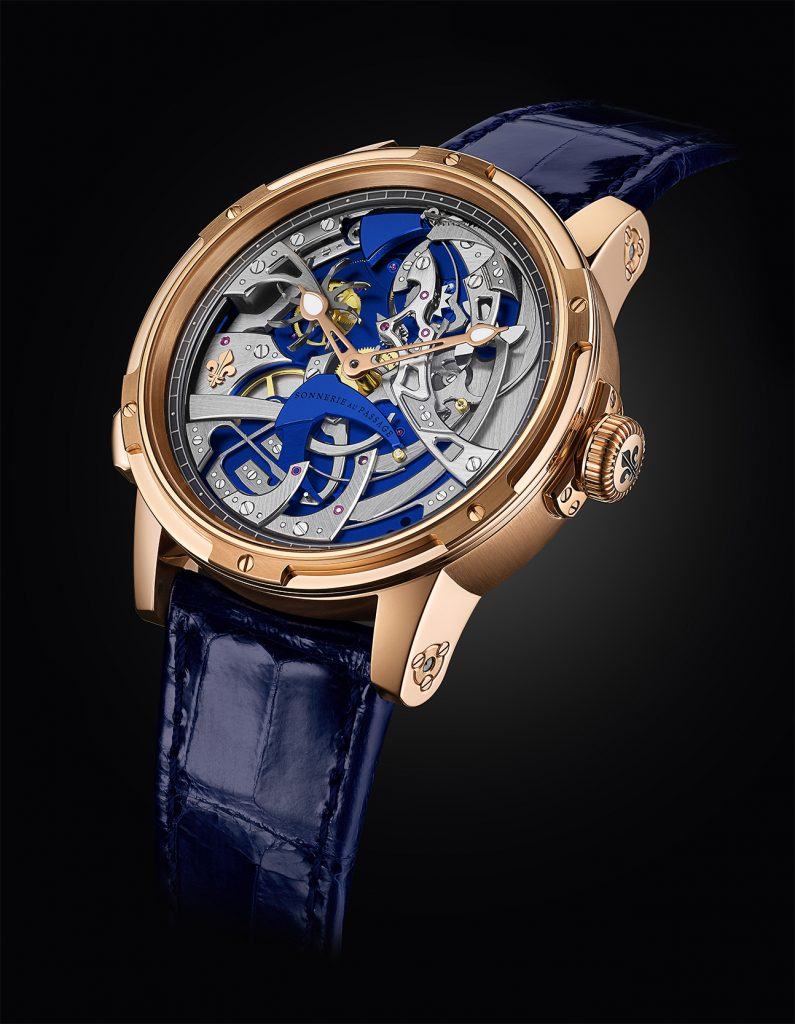 Louis Moinet Ultravox Hour Striker designed by Eric Coudray and team.