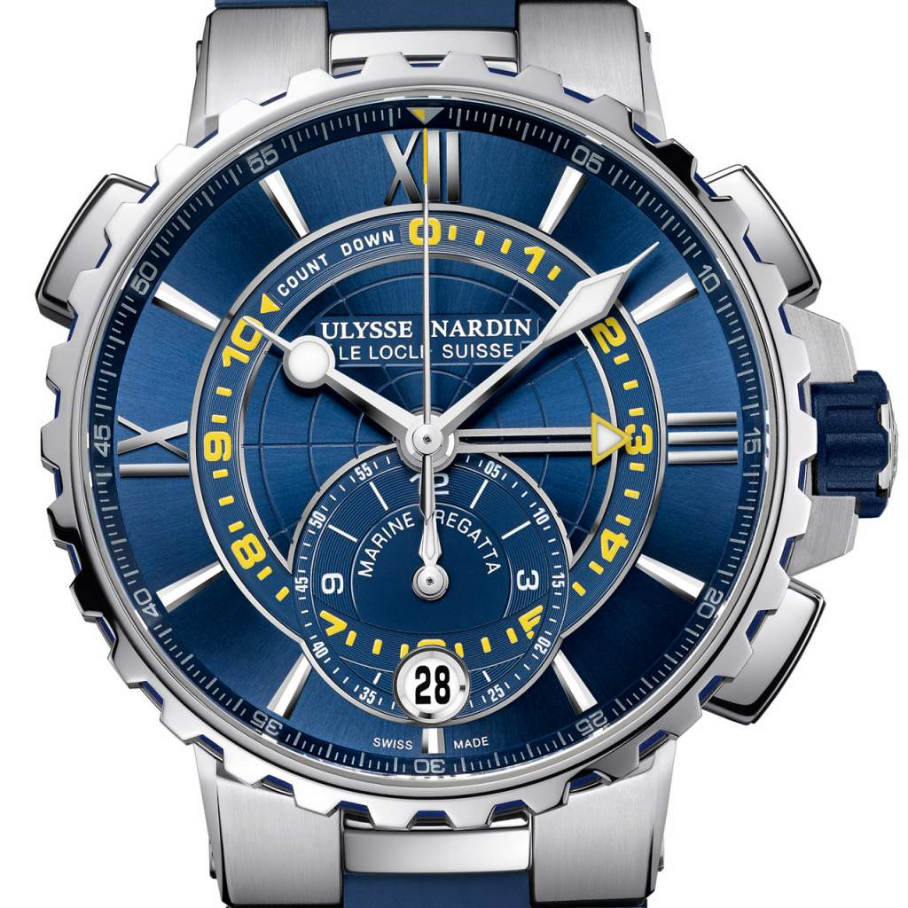 Our picks for the Top Sport Watches of GPHG 2017: Ulysse Nardin Marine Chronometer