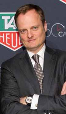 Ulrich Wohn, President, CEO TAG Heuer NA & LVMH Watch Jewelry