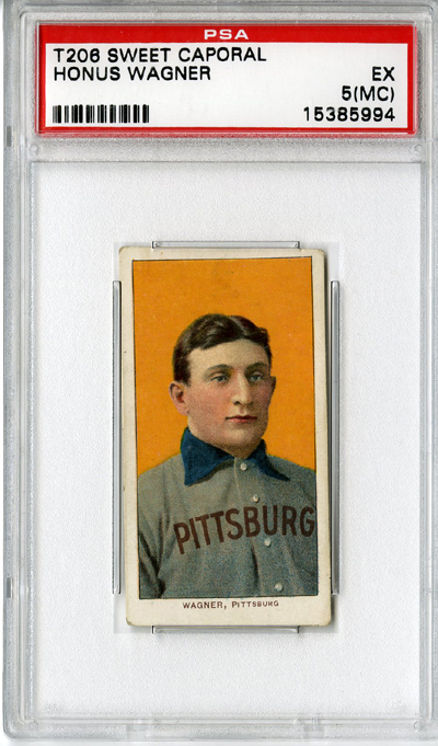 Honus Wagner card