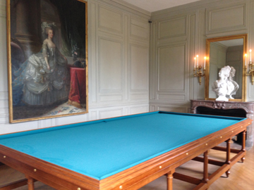 Marie Antoinette was an avid billiard player.