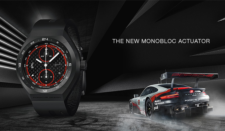 The Porsche Design contest lets you win one of four Monobloc Actuator chronographs.
