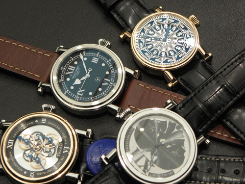 A selection of Peter Speake-Marin's varied collection.