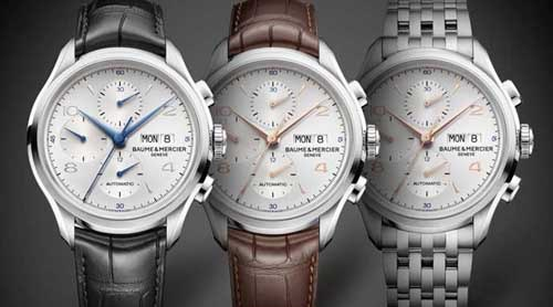 Baume & Mercier set to release three new Clifton Chronograph watches at SIHH 2014.