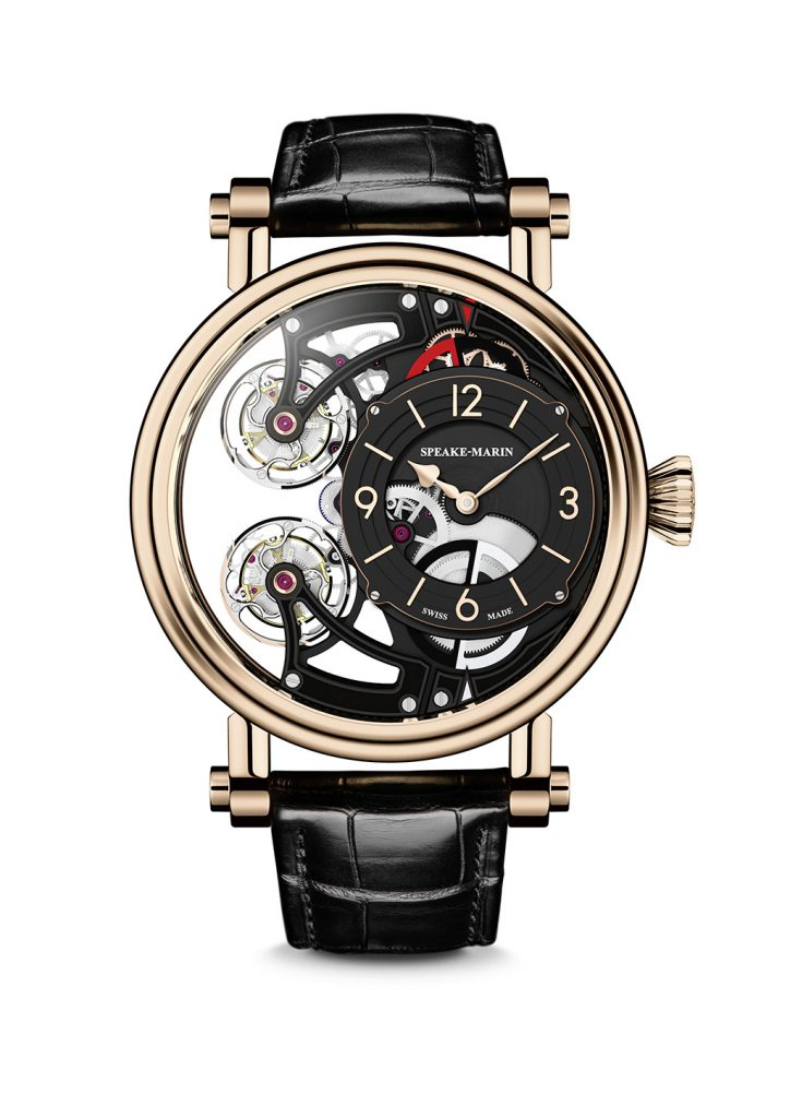 Speake-Marin Double Tourbillon Openworked.