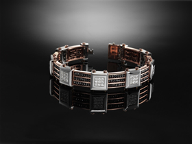 Black Magic bracelet from Zancan.