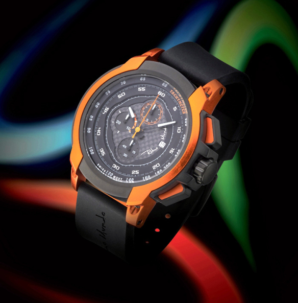 Ritmo Mundo Quantum -- the watch of choice for more than half a dozen top international footballers.