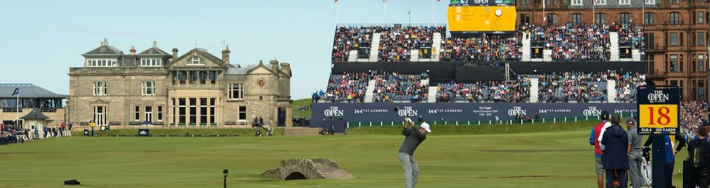 Carnoustie Golf Links in Scotland is the home of the 147th Open this week.