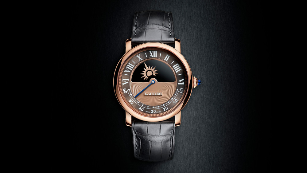 SIHH 2018: Rotonde de Cartier Mysterious Day and Night watch