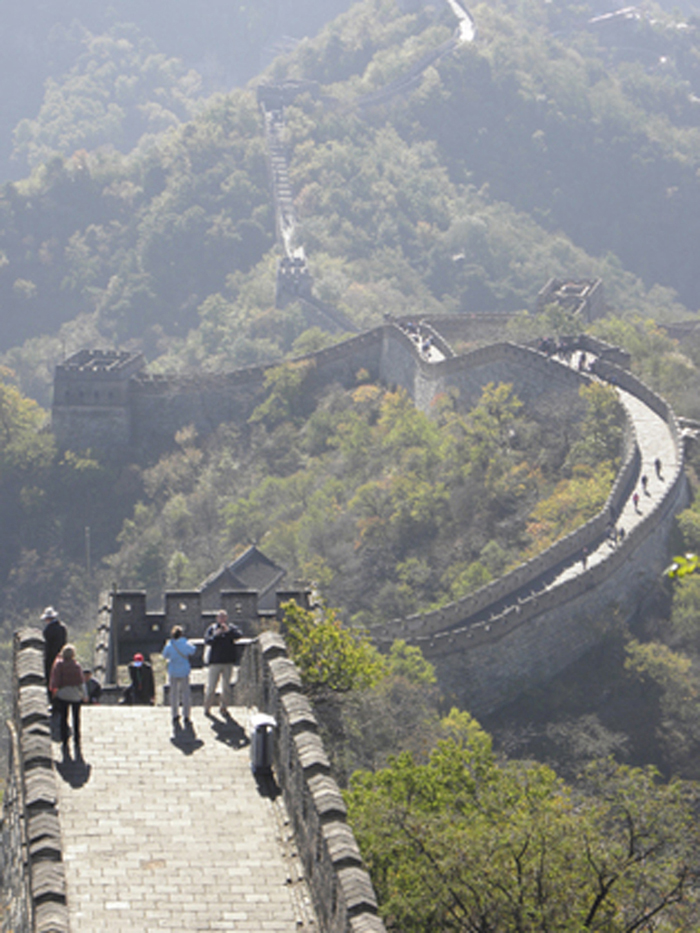 Walk the Great Wall of China (this section near Beijing)