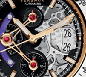 The dial is multi-levels adding depth and dimension