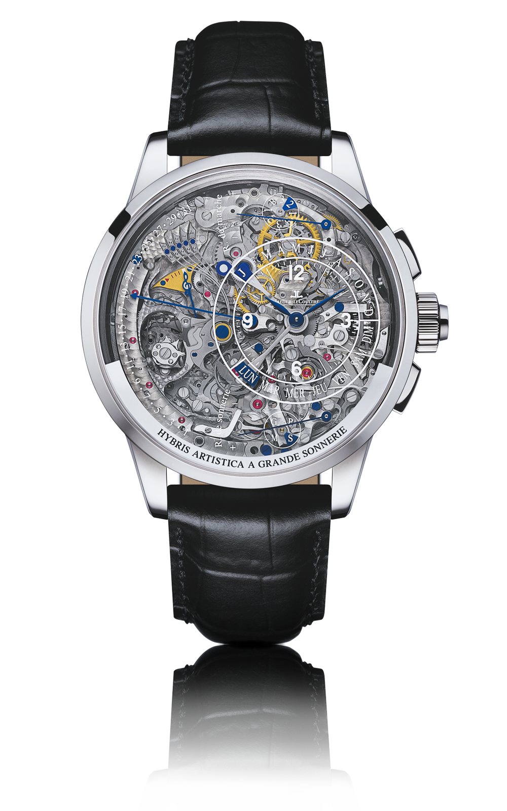 Amazing watchmaking jaeger lecoultre watches hybris artistica atimelyperspective for Lecoultre watches
