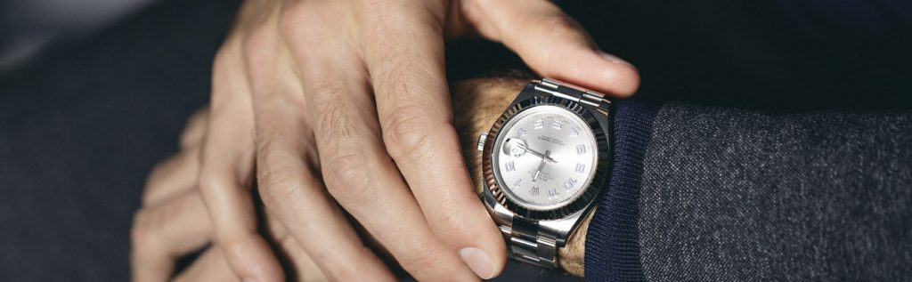 Rolex Datejust II ... Federer's favorite watch