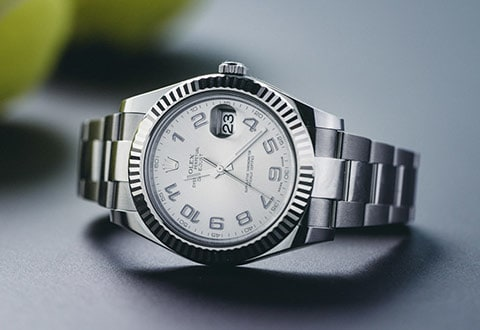Roger Federer's watch of choice: Rolex Datejust II