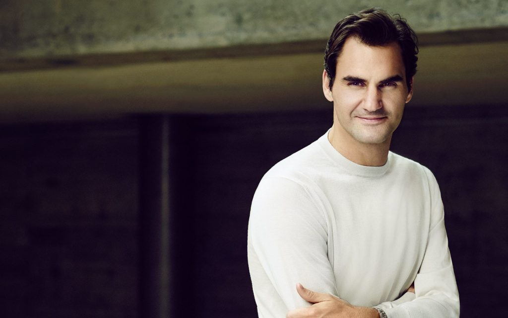 Roger Federer, Rolex brand ambassador and tennis great wins the 2018 Australian Open