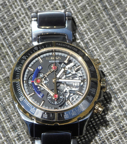 The price makes the DV One Skeleton Chronograph Swiss-made Automatic watch a great piece.