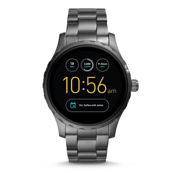 Fossil Brand Smart Watches, Q Series, Introduces New Touch Screens with Google Android Wear 2.0 OS