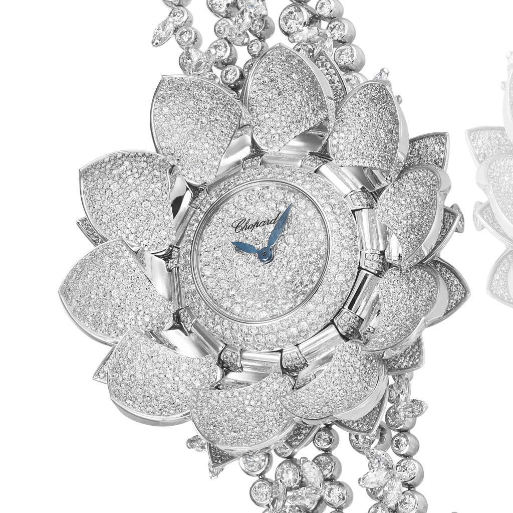 GPHG 2017: Jewelry Watch Prize: CHOPARD LOTUS BLANC WATCH