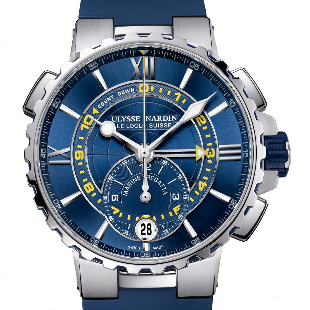 GPHG 2017 Sports Watch Prize: Ulysse Nardin, Marine Regatta