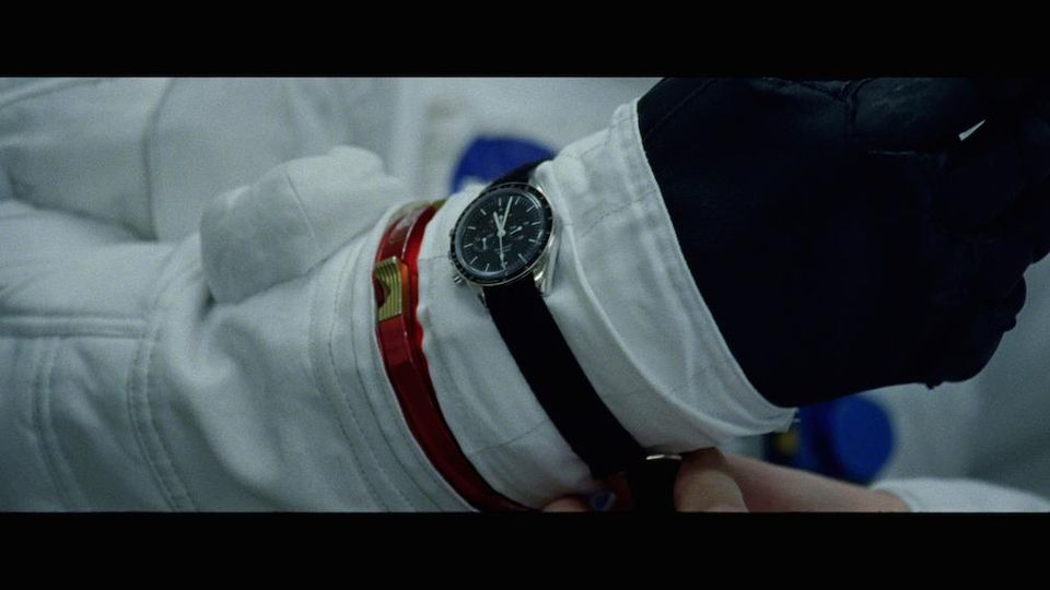 Omega watches star on wrist of Ryan Gosling, playing Neil Armstrong in First Man.OMEGA WATCHES
