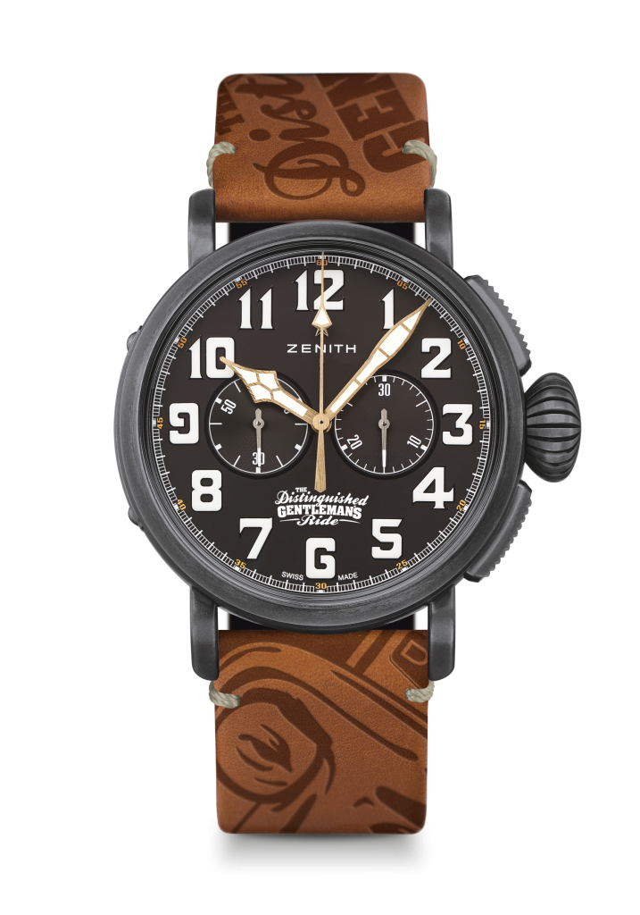 Zenith also created a very limited edition (5) of the Pilot Type 20 Chronograph Ton Up DGR