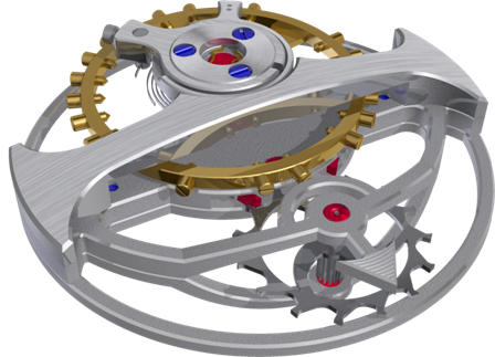 The tourbillon escapement of the UTTE