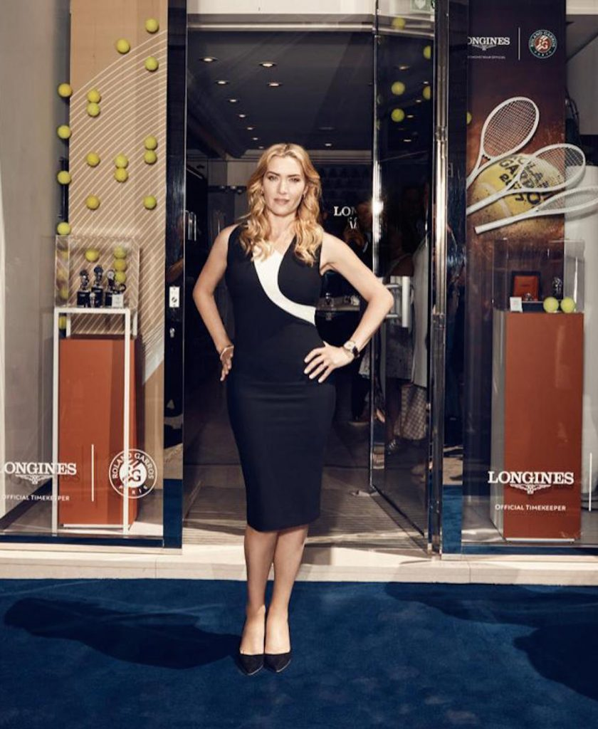 Academy-Award-winning British Actress, Kate Winslet is an Ambassador of Elegance for Longines and designed the Flagship Heritage by Kate Winslet watch.