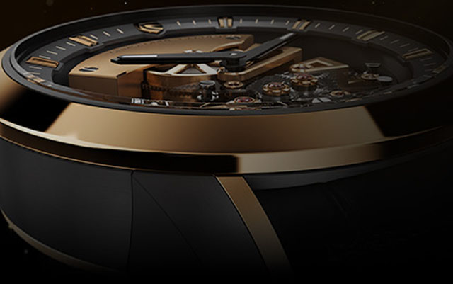 The complex Maestoso movement has more than 300 parts and a host of innovative systems.