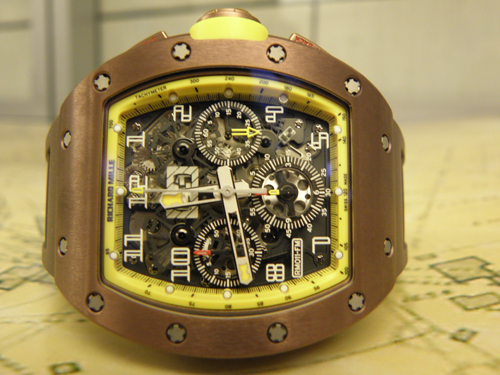 Richard Mille Automatic Flyback Chrono Felipe Massa