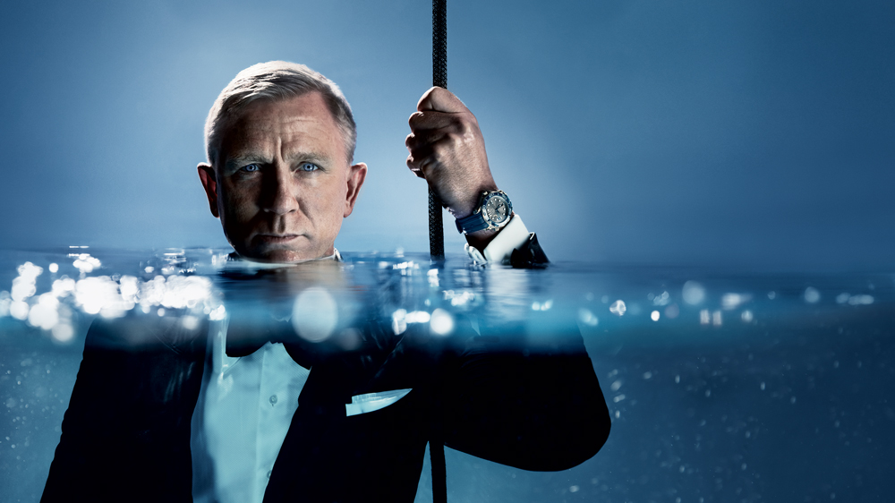 The new Omega Seamaster 300M series is backed by a campaign starring Daniel Craig as James Bond.