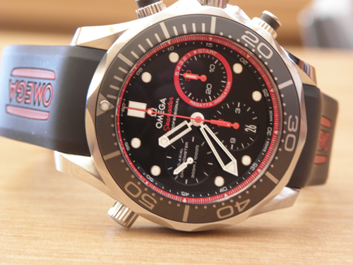 Introducing the Omega Seamaster Diver ETNZ Limited Edition Watch (original photos)