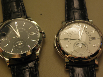 Two Patek Philippe minute repeaters.