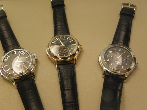 Three Patek Philippe minute repeaters