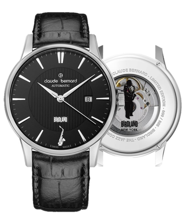 This Claude Bernard Birdland watch was made to celebrate 65 years of the NYC Birdland Jazz Club and Charlie Parker.