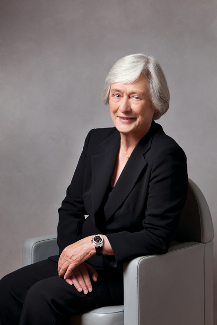 Jasmine Audemars, chairman of  the  board of The Audemars Piguet Foundation.