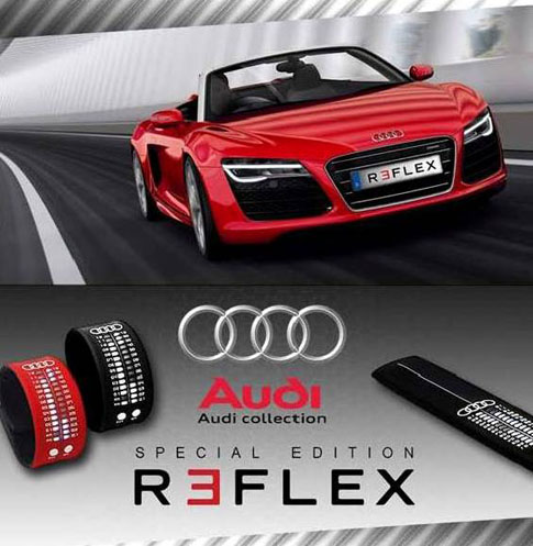 New Reflex Audi Collection watches are the result of a collaboration between Ritmo Mundo and Audi.