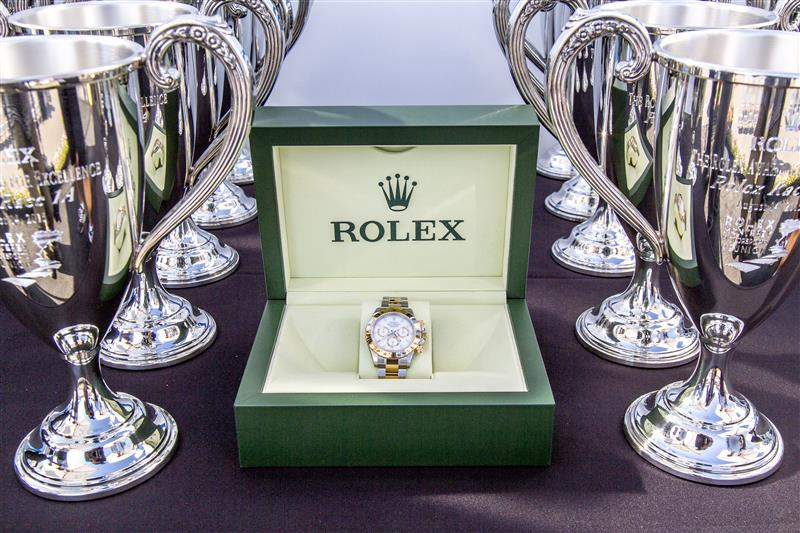 Rolex Awards at the Replica Rolex Monterey Motorsports Reunion. Photo: Rolex, Stephan Cooper