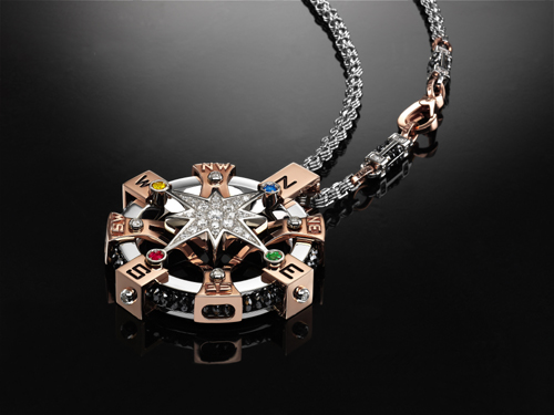 Star pendant with  bold authoritative appeal from Zancan